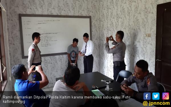 Bawa Sabu-sabu, Nakhoda Klotok Diciduk Ditpolair Polda Kaltim - JPNN.COM