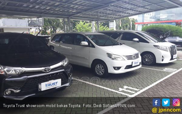 Beli Mobil Bekas di Toyota Trust Langsung Diganjar e-Money Rp 6 Juta - JPNN.COM