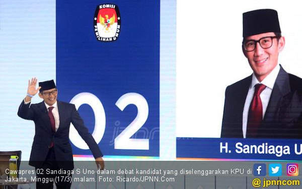 Ucapkan Selamat Ultah ke Kiai Ma'ruf, Sandi Lantas Beber Keluhan Rakyat - JPNN.COM