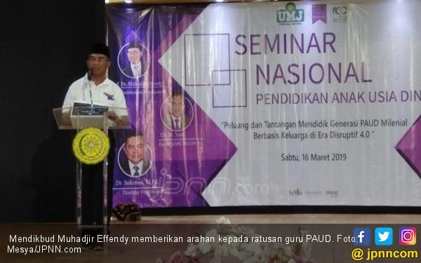 Mendikbud Sebut Banyak TK Swasta Tutup Gara - gara PAUD - JPNN.COM