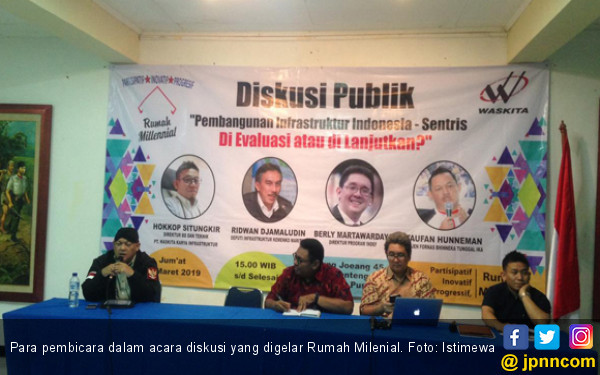 Rumah Milenial Beri Masukan Buat Jokowi soal Pembangunan Infrastruktur - JPNN.COM