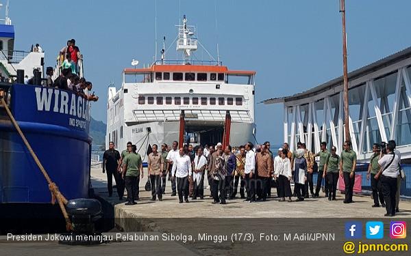 Jokowi Ingin Kembalikan Kejayaan Pelabuhan Sibolga - JPNN.COM