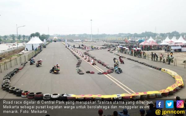 Meikarta Dorong Kemajuan Olahraga Otomotif via Road Race - JPNN.com