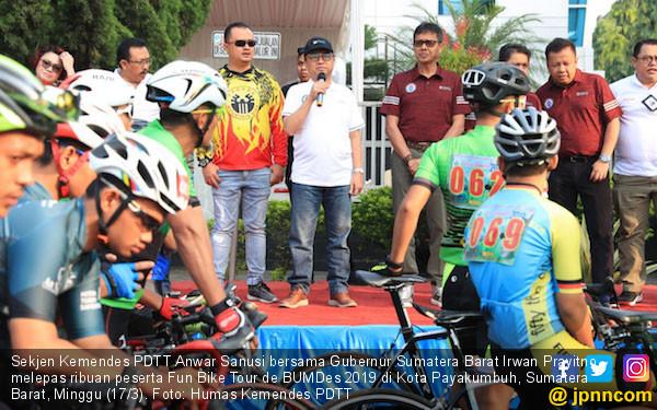 Fun Bike Tour de BUMDes 2019 Gerakkan Perekonomian Desa - JPNN.COM