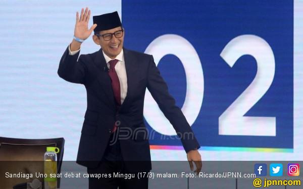 Permintaan Sandiaga Uno kepada KPU: Jangan Kejar Tayang - JPNN.com