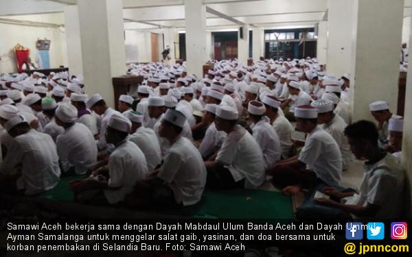 Selandia Baru Penembakan Picture: Samawi Aceh Kutuk Pelaku Penembakan Muslim Di Selandia