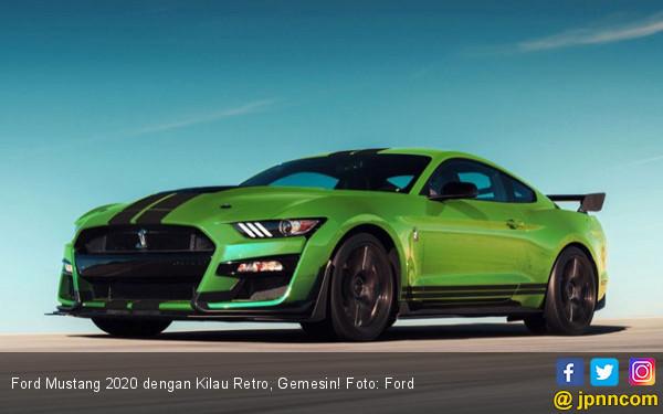 Ford Mustang 2020 dengan Kilau Retro, Gemesin! - JPNN.com