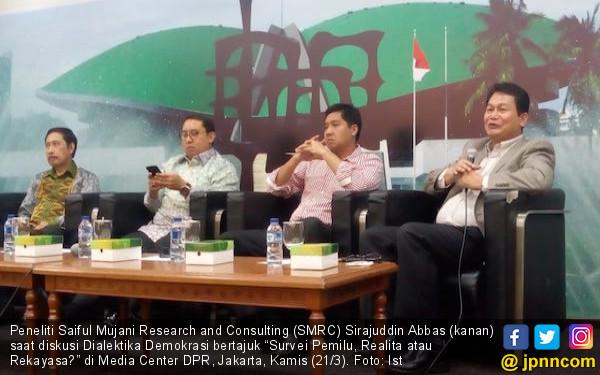 Survei SMRC: Rakyat Makin Takut Bicara Politik - JPNN.com