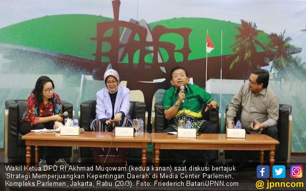 Akhmad Muqowam: Anggota DPD RI Harus Mampu Bekerja di Ruang Daerah