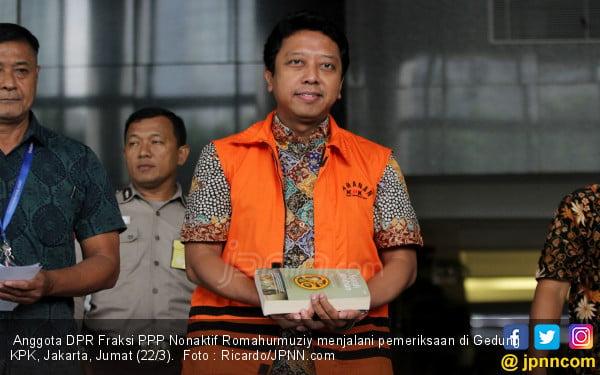 Romy PPP Keluhkan Gizi Makanan di Dalam Sel KPK - JPNN.com