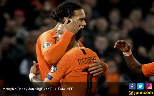 Belanda Pesta Gol di Matchday Pertama Kualifikasi Euro 2020 - JPNN.com