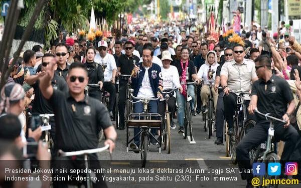 4 Alasan Ribuan Alumni Jogja Dukung Jokowi - Ma'ruf - JPNN.COM