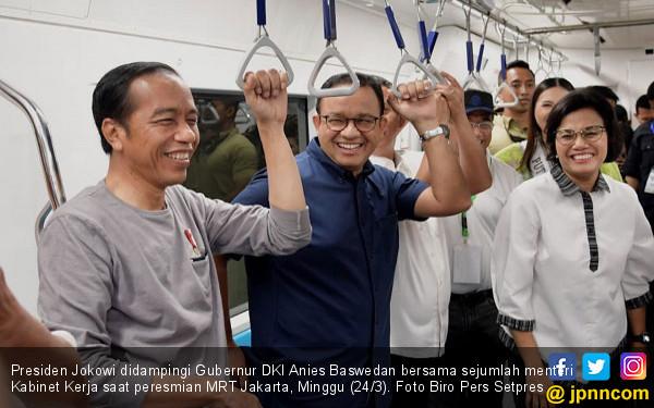 Anies Baswedan: Presiden dan OB Satu Kelas di MRT - JPNN.com