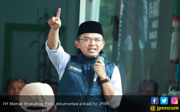 Kiai Maman Angkat Bicara Merespons Isu Muktamar Luar Biasa PKB, Kalimatnya Tegas - JPNN.com