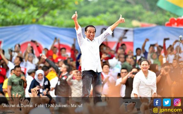 Jokowi: Baju Putih Itu Murah, Jas Mahal - JPNN.com