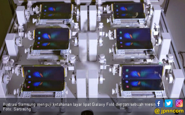 Jumat Dipasarkan, Harga Samsung Galaxy Fold Rp 28 Juta - JPNN.com