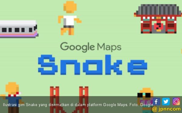 Google Maps Ajak Bernostalgia Melalui Gim Snake Jpnn Com