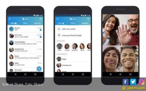 Microsoft Merilis Skype dengan Konsep Baru - JPNN.com