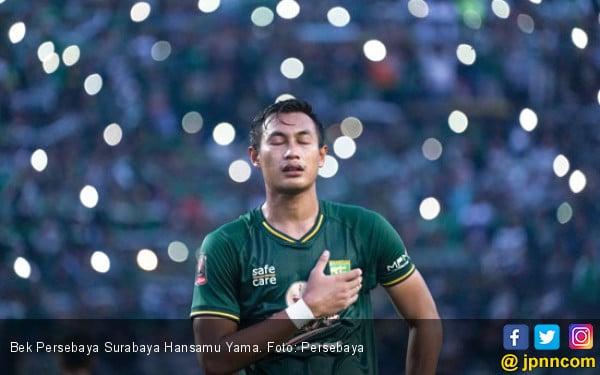 Kondisi Terkini Hansamu Yama Jelang Persebaya vs Semen Padang - JPNN.com