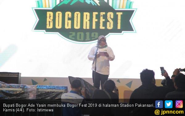 Genjot Promosi Pariwisata, Ade Yasin Luncurkan Bogor Fest 2019 - JPNN.com