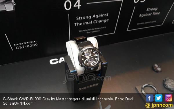 Harga G-Shock Gravity Master Lebih Mahal dari Honda BeAt, Ini Keunggulannya - JPNN.com