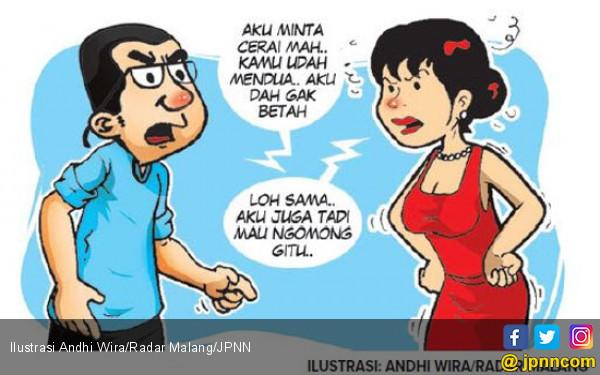 Cueki Suami, Istri Lebih Puas Rasakan Servis Maut Berondong - JPNN.com