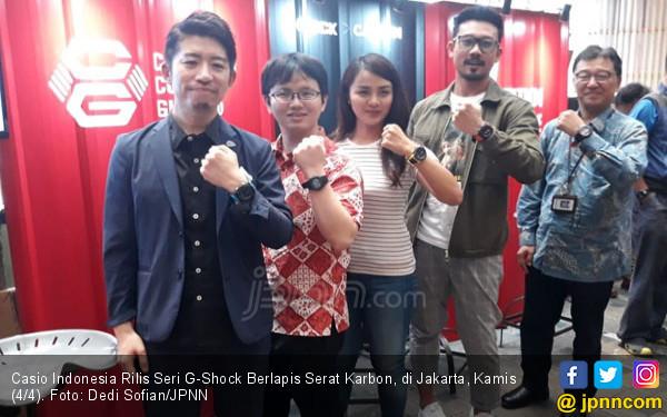 Casio Indonesia Rilis Seri G-Shock Berlapis Serat Karbon, Cek Harganya - JPNN.com