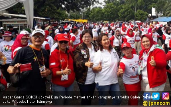 Garda SOKSI Kerahkan Kader dalam Kampanye Jokowi - JPNN.com