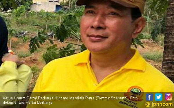 Komentar Tommy Soeharto soal Prabowo Jadi Pembantu Presiden Jokowi - JPNN.com