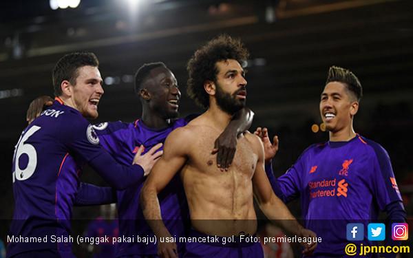 Southampton 1-3 Liverpool: Akhirnya Salah Cetak Gol Lagi - JPNN.com