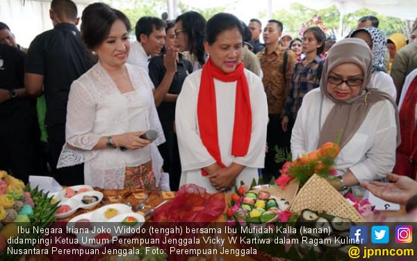 Iriana Jokowi Ajak Ibu-Ibu Kembangkan Kuliner Nusantara via UMKM - JPNN.com