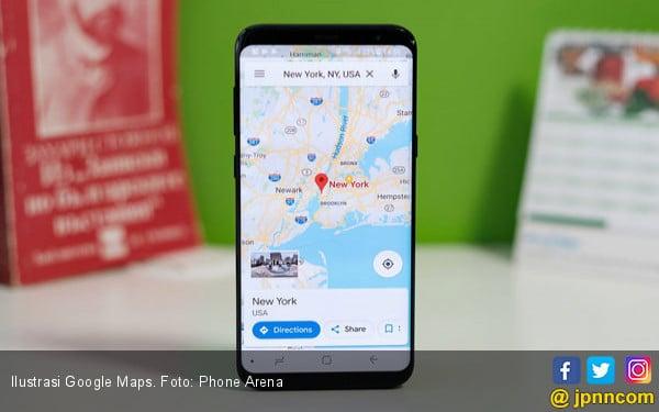 Google Maps Uji Coba Fitur Ikon Lampu Lalu Lintas - JPNN.com