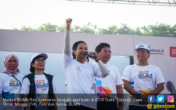 Menteri Rini: Banyak Trouble, Saya aja Ngomel-ngomel - JPNN.com
