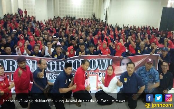 Honorer K2 Pendukung Jokowi Optimistis Diangkat PNS Tahun Ini - JPNN.com