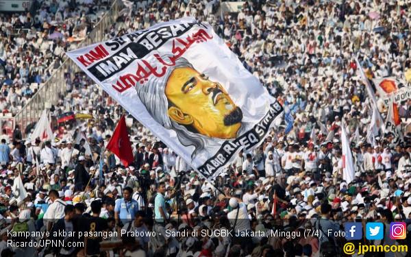 Hasil Survei Voxpol Center Dinilai Sesuai Kondisi Nyata Massa Pendukung Prabowo - JPNN.com