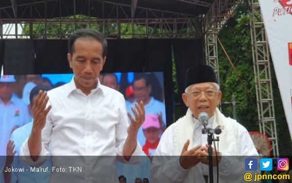 Dari Pintu ke Pintu, ARJ Bagikan 1 Juta Kaus Jokowi - Amin
