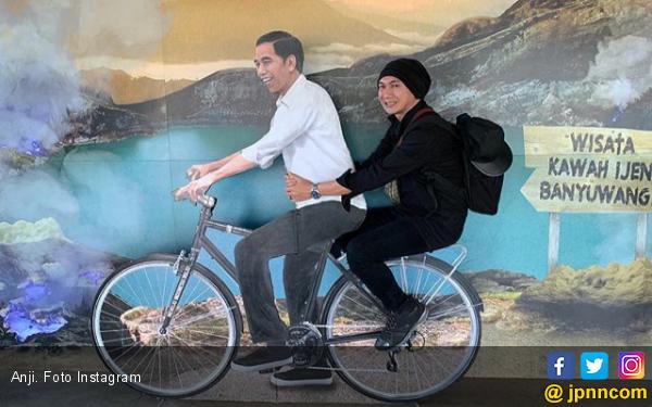 Dulu Prabowo, Anji Kini Pilih Jokowi