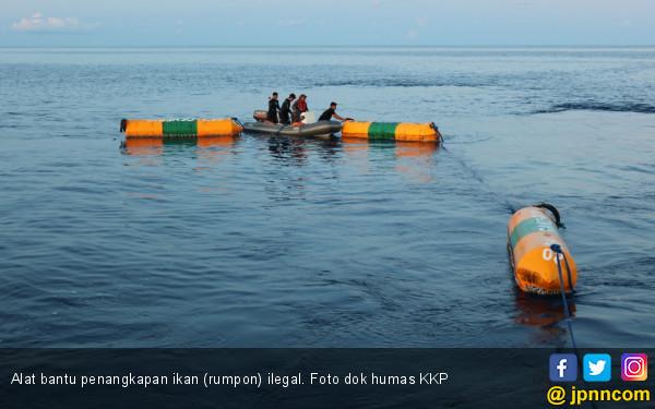 20 Rumpon Ilegal Ditertibkan di Perairan Perbatasan Indonesia - Filipina - JPNN.COM