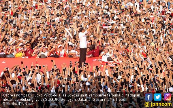 Real Count Suara Pilpres di Situng KPU 88,13%, Sudah Jelas Barang Itu! - JPNN.com