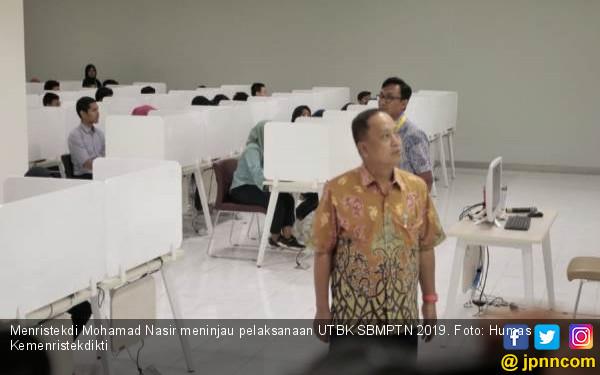 Nilai UTBK SBMPTN 2019 Tunggu 10 Hari