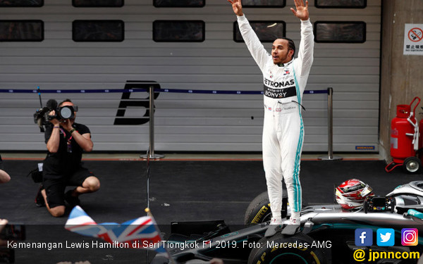 Rekor Lewis Hamilton Usai F1 Inggris dan Hasil Klasemen - JPNN.com