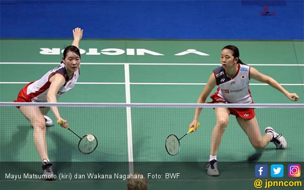 Matsumoto / Nagahara Butuh 47 Menit Menang di Final Singapore Open 2019 - JPNN.com