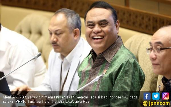 MenPAN-RB: PNS dan PPPK Sama Sejahteranya - JPNN.com