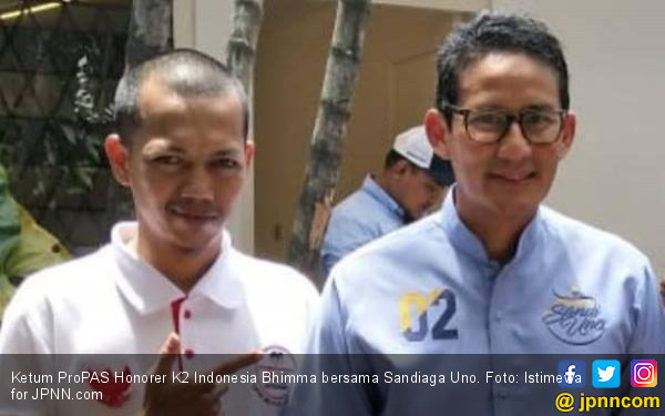 Honorer K2 Pendukung Prabowo - Sandi Pengin Ikut Tes PPPK - JPNN.com