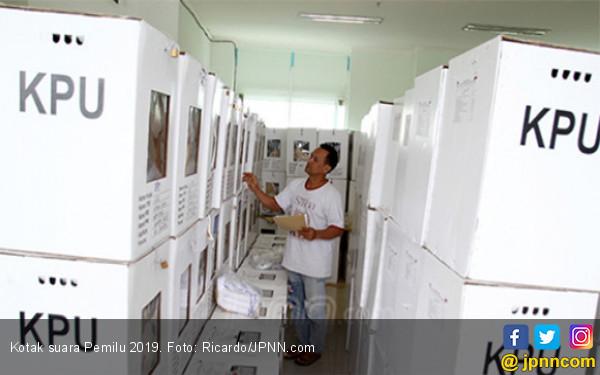 Gudang Kotak Suara Pemilu 2019 di Sumbar Terbakar - JPNN.com