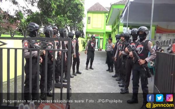 Tim Kobra Bersenjata Laras Panjang Awasi Rekapitulasi Suara - JPNN.com