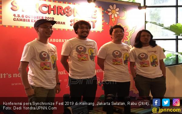 Synchronize Fest 2019 Hadirkan Band Pop Melayu - JPNN.com