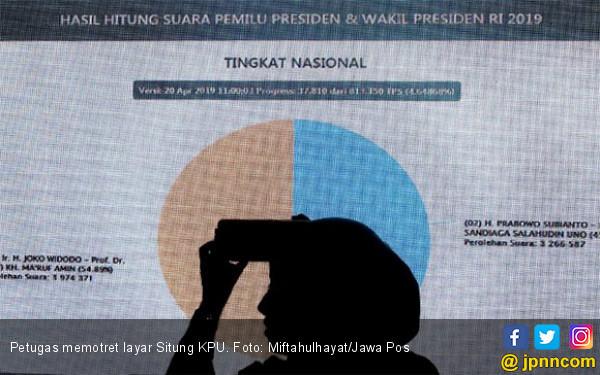 Rekapitulasi KPU: Jokowi - Ma'ruf Menang di Sumatera Utara - JPNN.com