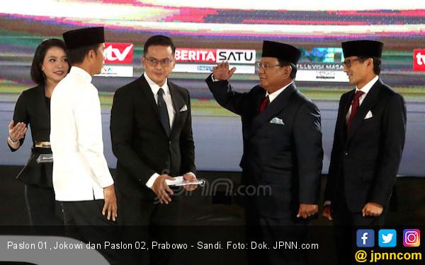Kawal Pemilu 2019, Prabowo - Sandi Tertinggal 10,6 Juta dari Jokowi - Ma'ruf - JPNN.com