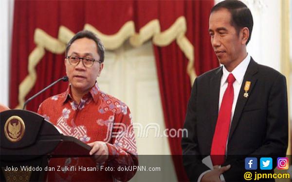 Di Depan Jokowi - JK, Zulkifli Hasan Singgung Pemenang Pilpres - JPNN.com